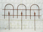Small Wrought Iron Garden Border Edging Fence
