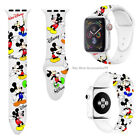 Mickey Mouse Silicone Minnie  Band Strap For iWatch Apple Series 6 5 4 3 2 1 <br/> USA Stock✔Free Shipping✔High Quality✔Best Deal✔100%