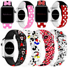Kyпить Mickey Mouse Silicone Minnie  Band Strap For Apple iWatch Series 6 5 4 3 2 1 на еВаy.соm