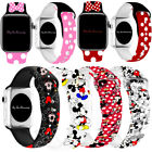 Mickey Mouse Silicone Minnie Band Strap For Apple iWatch Series 6 5 4 3 2 1
