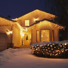 5M Curtain Icicle Led String Light Christmas Holiday Garlands Decorative Lights