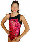 NEW Zap Gymnastics or Dance Girls Leotard by Snowflake Designs