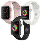 Apple Watch Series 3 38mm GPS Aluminum Space Gray, Silver, or Gold Smartwatch