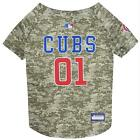 Chicago Cubs Pet Camo Jersey from StayGoldenDoodle.com