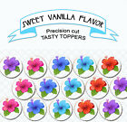 Hibiscus surf beach luau surboard birthday Party cupcake cake Toppers Cup Cake