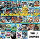 WII U GAMES - Nintendo Wii U - Mint - Super Fast Delivery