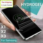 For Samsung Galaxy A20 A30 A42 A50 A60 A70 Hydrogel Full Cover Screen Protector
