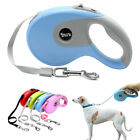 Retractable Dog Lead Tape Flexi Large Leads Extendable Strong Leash Pet Rope 5M