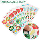 Candy Bag Packaging Paper Sticker Self Adhesive Tag Gift Stickers Sealing Label