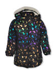 Real Love Baby Girls' Unicorn Insulated Parka