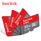 SanDisk Micro SD Card Ultra 16GB 32GB 64GB 128GB 256GB Class 10 Memory Card