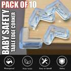 10x Silicone Desk Table Corner Guards Protector Edges Protection Baby Kid Safety