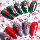 3d Christmas Snowflake Sequins Nail Art Stickers Glitter Metal Slices Decor New