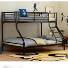 Twin Bunk Triple Bunk Beds Metal Frame 2 / 3 Sleepers Children Kids Adults Beds