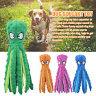 Interactive Pet Supplies Dog Squeaky Toy Crinkle Plush Octopus No Stuffing Gift