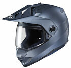 HJC SF Anthracite DS-X1 Solid Dual Sport Adventure Motorcycle Helmet DOT