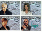 James Bond The World Is Not Enough Inkworks 1999 Autograph Card Selection