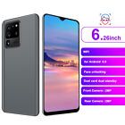 Unlocked HD LCD Smartphone Mobile Phone Dual SIM Card Gray 6G 64GB for Android