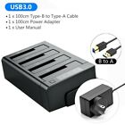 USB 3.0 to SATA I/II/III External Hard Drive Docking Station for2.5/3.5'' HDDSSD