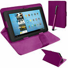 """Universal Ultra Slim Book Flip Tablet Case PU Leather Cover For Lenovo 7"""",10"""" PC"""