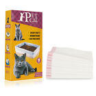 10pcs Universal Cat Litter Box Liner Smooth Drawstring Bag Leakproof Extra Large