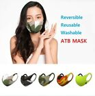 ATB Mask 3pcs 5 Types Reusable Mask UV Protection Mask Washable Face Cover BEST