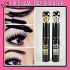 5D Silk Fibre Mascara Eyelash Waterproof Extension Volume Makeup Eyeliner Black