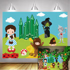 The Wonderful Wizard of Oz Backdrop Kids Birthday Cartoon Theme Party Background