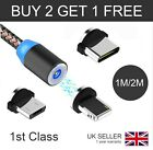 3 in 1 Magnetic USB Cable Fast Charging Charger Phone Type-C Micro USB IOS