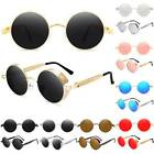 Vintage Steampunk Sunglasses Goggles Classic Round Mirror Eyewear Glasses Gifts