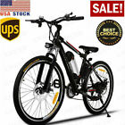 VIVI 26'' 350W Electric Bike Mountain Bicycle 36V 8Ah Li-Battery 21Speed Gear