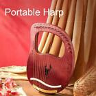 16/19 Tones Lyre Harp Carry and Tuning Wrench Gift For Kid Friends T4Y4
