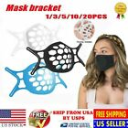 3D Face Mask Bracket Mouth Separate Inner Stand Soft Silicone Holder Frame US