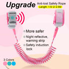 Child Safety Harness Leash Anti Lost Wrist Link Traction Rope w/ Inductio n