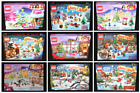 Lego Advent Calendars (Lego City and Friends) COMPLETE SETS