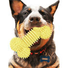 TPR Cleaning Teeth Dog Chew Toys Home Interactive Health Care Funny Spur Bone