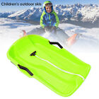 Durable 65x40cm Snow Sled Kids Adults Sledge Flyer Flying Sleigh Gift Toys