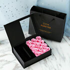 12pcs Valentines Eternal Rose Soap Flower Surprises Jewelry Boxes Party Gift