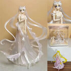 Sailor Moon Figure Tsukino Usagi Wedding Dress Anime Model Boxed Toy Gift 25cm