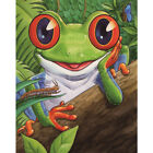 Muyunnet 5D DIY Diamond Painting Frog Full Square Rhinestone Picture Home W SL#