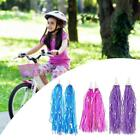 Kid Bicycle Ribbon Bike Scooter Streamers Sparkle Tassel Riband Cl Decor P2t0
