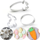 Steel Sugarcraft Easter Cookies Cutter Easter Rabbit Cake Mold Biscuit Mould