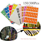 Tool Waterproof Wire Identification Tags Cable Labels Fiber Organizers Stickers