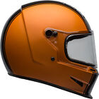 Bell Adult Black/Orange Eliminator Rally Motorcycle Full Face Helmet DOT ECE