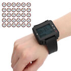 Wireless Restaurant Watch Coaster Service Calling System 30 Keyboard Pagers
