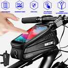 Bike Front Tube Bag MTB Bicycle Frame Pouch Cycling Phone Holder Case Waterproof