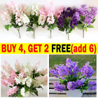 5 Heads Artificial Hyacinth Fake Flowers For Office Party Wedding Home Decor