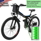 26'' Electric Bike Mountain Bicycle City Folding Ebike 21Speed350W Battery' NO.1
