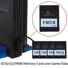 FMCB Free McBoot Card V1.953 For Any Fat PS2 Playstation2 Card I1L2 OPL P4I5