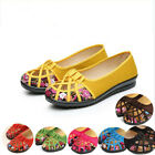 Women's Slip On Flats Casual Comfort Breathable Perforated Loafers Summer Shoes